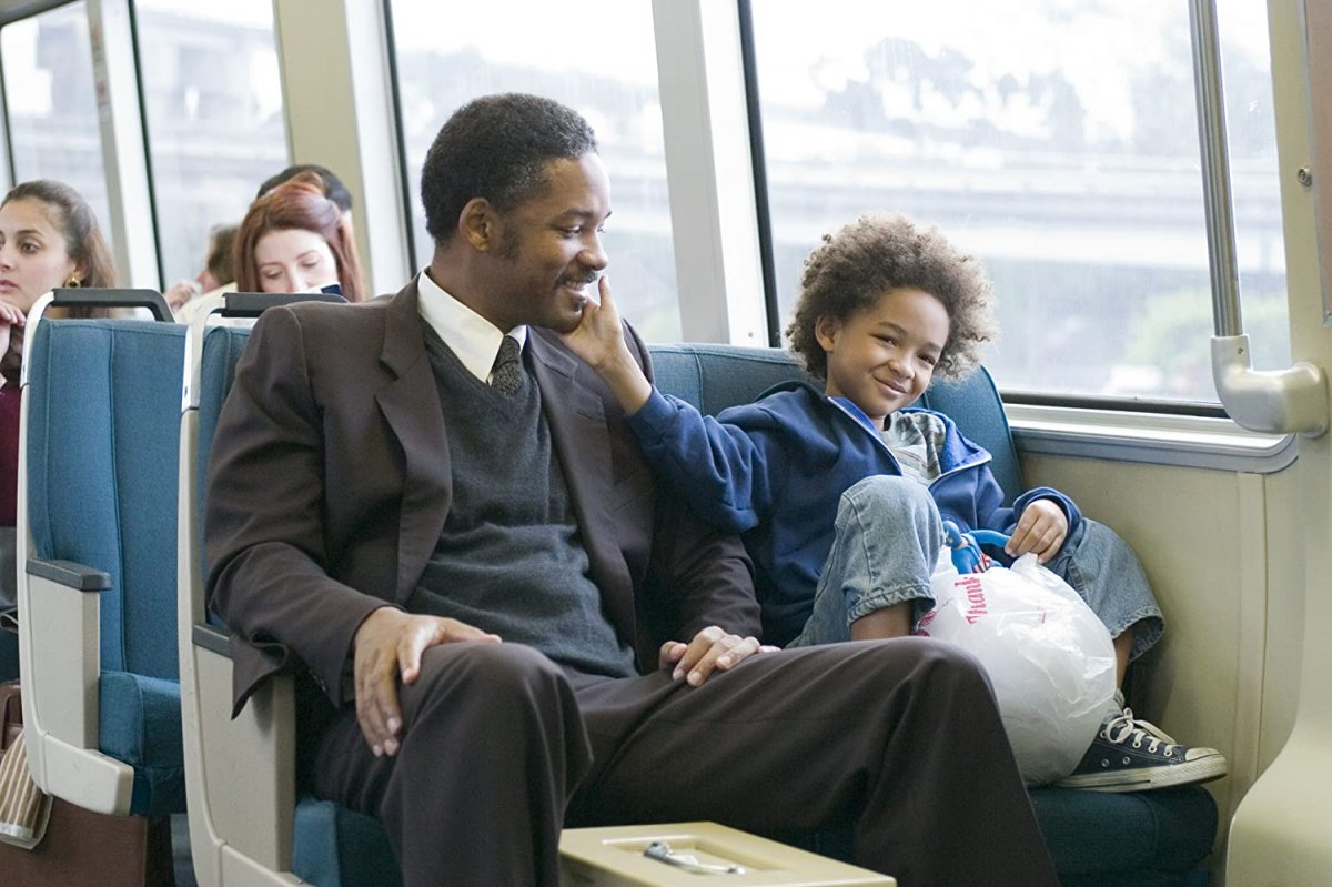 Will Smith em A Busca da Felicidade