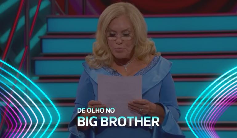 Teresa Guilherme lê comunicado da Endemol sobre os problemas de saúde mental no Big Brother