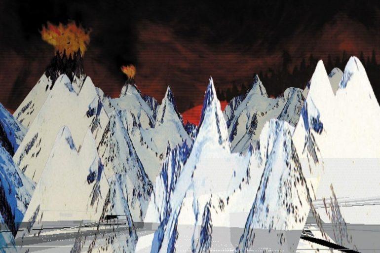 Arte do álbum Kid A dos Radiohead