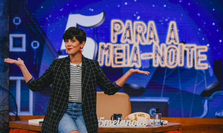 Inês Lopes Gonçalves no '5 Para a Meia Noite'