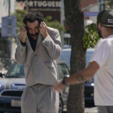 'Borat 2' é o novo triunfo de Sacha Baron Cohen, apresentando-se ao nível do primeiro filme.