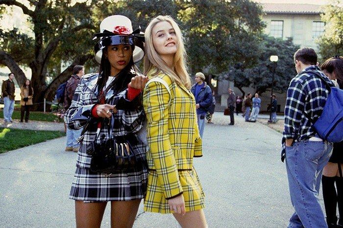 Alicia Silverstone e Stacey Dash como Cher e Dionne em Clueless