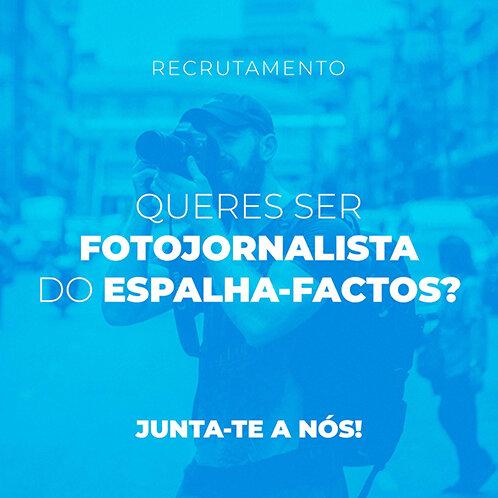 Queres ser fotojornalista do Espalha-Factos? Junta-te a nós!
