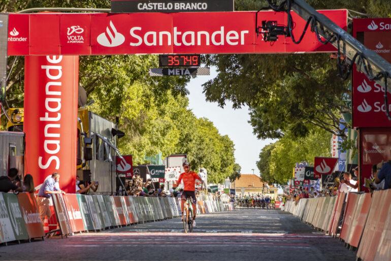 Volta a Portugal na RTP1 - Segunda etapa terminou em Castelo Branco