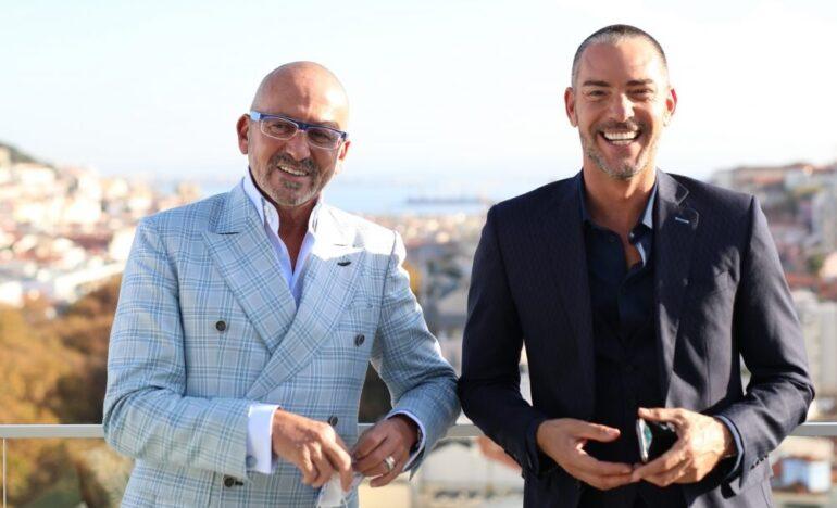 Cláudio Ramos e Manuel Luís Goucha Big Brother