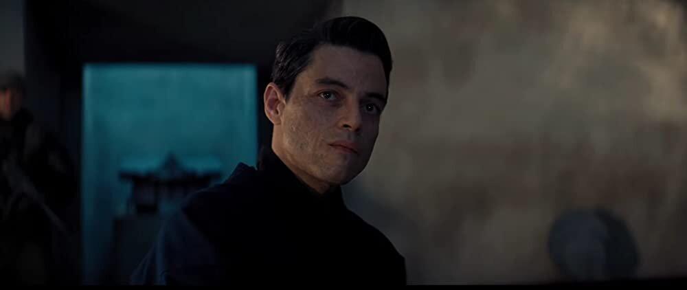 007 Sem Tempo para Morrer Rami Malek