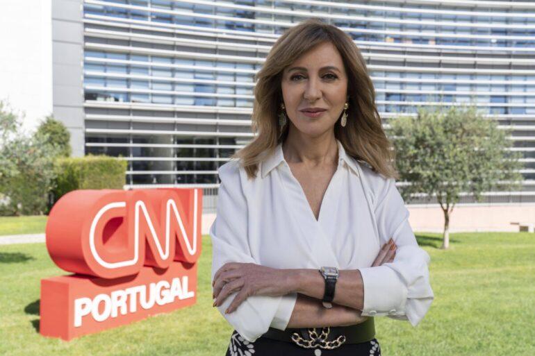 Judite Sousa na CNN Portugal